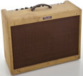Musical Instruments:Amplifiers, PA, & Effects, 1990's Fender Blues Deluxe Tweed Guitar Amplifier, Serial #T-072660....