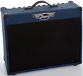 Musical Instruments:Amplifiers, PA, & Effects, Traynor YCV50 Blue Guitar Amplifier, Serial Number #5101837BL....
