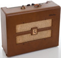 Musical Instruments:Amplifiers, PA, & Effects, 1950's Gibson GA-20 Brown Guitar Amplifier, No Serial Number....