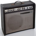 Musical Instruments:Amplifiers, PA, & Effects, 1960's Magnatone MP-1 Black Guitar Amplifier, No Serial Number....