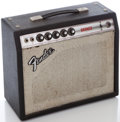 Musical Instruments:Amplifiers, PA, & Effects, 1970's Fender Bronco Silverface Guitar Amplifier, Serial Number #A48615....