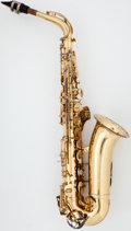 Musical Instruments:Horns & Wind Instruments, 1970 Conn Shooting Star Brass Alto Saxophone, Serial Number #N43147....