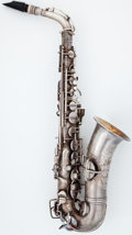 Musical Instruments:Horns & Wind Instruments, 1925 Conn Chu Berry Silver Alto Saxophone, Serial Number#135782....