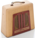 Musical Instruments:Amplifiers, PA, & Effects, 1940's Gibson BR-9 Tan Guitar Amplifier, No Serial Number....