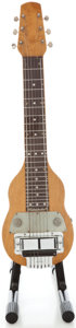 Musical Instruments:Lap Steel Guitars, 1940's Rickenbacker Natural Lap Steel Guitar. No Serial Number ...