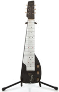 Musical Instruments:Lap Steel Guitars, 1940's Gibson Ultratone Black Lap Steel Guitar. No Serial Number ...