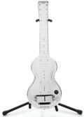 Musical Instruments:Lap Steel Guitars, 1940's Rickenbacher Electro Silver Lap Steel Guitar, Serial Number #D1453....