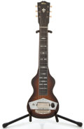 Musical Instruments:Lap Steel Guitars, 1942 Gibson EH-125 Sunburst Lap Steel Guitar, Serial Number#F7318-56....