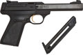 Handguns:Semiautomatic Pistol, Cased Browning Model Buck Mark Semi-Automatic Target Pistol....