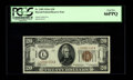 Small Size:World War II Emergency Notes, Fr. 2305 $20 1934A Hawaii Federal Reserve Note. PCGS Gem New66PPQ.. The quality and originality of this note are unmistakab...