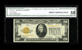 Small Size:Gold Certificates, Fr. 2402* $20 1928 Gold Certificate. CGA About Uncirculated 58.. A lovely star with the appearance of a fully uncirculated n...