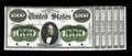 Hessler 1396 $1000 1861 Interest Bearing Treasury Note Face Proof About New, PC. This would make a nice companion piece...