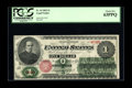 Large Size:Legal Tender Notes, Fr. 16 $1 1862 Legal Tender PCGS Choice New 63PPQ. A fresh original example with good color and perfect paper embossing. If ...