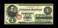 Large Size:Legal Tender Notes, Fr. 16 $1 1862 Legal Tender Extremely Fine. This three fold Extremely Fine is problem free and original. The seal is especia...