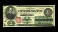 Large Size:Legal Tender Notes, Fr. 16 $1 1862 Legal Tender Very Fine. The edges and paper are problem free on this nicely inked Ace....