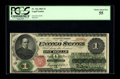 Large Size:Legal Tender Notes, Fr. 16a $1 1862 Legal Tender PCGS Choice About New 55. This is the scarcer variety with National Bank Note Company printed t...