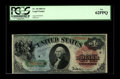 Large Size:Legal Tender Notes, Fr. 18 $1 1869 Legal Tender PCGS New 62PPQ. There is little doubt that the close top and bottom margins are responsible for ...