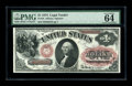 Large Size:Legal Tender Notes, Fr. 19 $1 1874 Legal Tender PMG Choice Uncirculated 64 EPQ. From a small run of new examples. This note would have benefited...