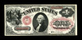 Fr. 20 $1 1875 Legal Tender New. While most examples of this issue show a light overprint, this example is especially bo...