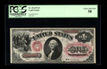 Fr. 20 $1 1875 Legal Tender PCGS Choice About New 58. A well margined, brightly colored example of this early Ace. The r...