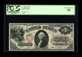 Large Size:Legal Tender Notes, Fr. 20 $1 1875 Legal Tender PCGS Choice About New 58. A pleasing example of this popular, ornate design Red Seal. Great colo...