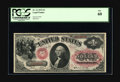 Large Size:Legal Tender Notes, Fr. 21 $1 1875 Legal Tender PCGS New 60. A little light stainaround the edges, visible almost entirely from the back, held ...