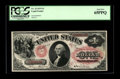 Large Size:Legal Tender Notes, Fr. 23 $1 1875 Legal Tender PCGS Gem New 65PPQ. The last appearanceof this note at auction was over 25 years ago. Fr. 23 is...