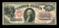 "Large Size:Legal Tender Notes, Fr. 23 $1 1875 Legal Tender Very Fine. This ""Series C"" note is a very scarce item in all grades, with only about 35 pieces r..."