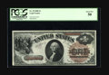 Fr. 29 $1 1880 Legal Tender PCGS About New 50. The centering is below average and two corners are rounded, but this Larg...