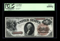 Fr. 30 $1 1880 Legal Tender PCGS Gem New 65PPQ. The solid embossing from the big brown seal is noticed on back. Compared...