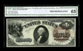Large Size:Legal Tender Notes, Fr. 32 $1 1880 Legal Tender CGA Gem Uncirculated 65. An excitingtype note that portrays a vignette of Columbus sighting lan...