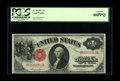 Large Size:Legal Tender Notes, Fr. 36 $1 1917 Legal Tender PCGS Gem New 66PPQ. A very common type, but certainly not at this grade level. The original embo...