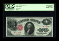 Large Size:Legal Tender Notes, Fr. 36 $1 1917 Legal Tender Star Note PCGS Very Choice New 64PPQ. With just a bit better centering on the back this bright e...