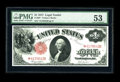 Large Size:Legal Tender Notes, Fr. 36 $1 1917 Legal Tender Star Note PMG About Uncirculated 53. A most attractive example of a lightly circulated early rep...