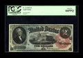 Large Size:Legal Tender Notes, Fr. 42 $2 1869 Legal Tender PCGS Gem New 66PPQ. Only two points below the note we sold last January for over $40,000, and th...