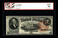 Large Size:Legal Tender Notes, Fr. 53 $2 1880 Legal Tender PCGS Apparent About New 50, MinorRestorations. A few corner folds are noted at two of the corne...