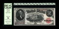Fr. 60 $2 1917 Legal Tender Star Note PCGS About New 50. This lightly handled well margined example still exhibits brigh...