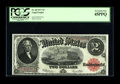 Fr. 60 $2 1917 Legal Tender PCGS Extremely Fine 45PPQ. A bright example with paper that exhibits much crispness and brig...