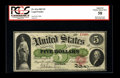 Fr. 61a $5 1862 Legal Tender PCGS Apparent Choice About New 58. A corner fold is noticed on this example that is a bit d...