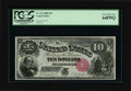 Fr. 111 $10 1880 Legal Tender PCGS Very Choice New 64PPQ. Fr. 111 is one of the more available Jackass numbers making th...