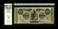 Fr. 124 $20 1862 Legal Tender PCGS Very Fine 25. Less than ninety examples are known for this type. This particular exam...
