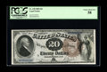 Large Size:Legal Tender Notes, Fr. 138 $20 1880 Legal Tender PCGS Choice About New 58. Just under50 examples are known of this Rosecrans-Hudson signed Lar...