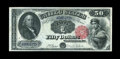 Large Size:Legal Tender Notes, Fr. 164 $50 1880 Legal Tender Extremely Fine-About New. The eyeappeal of this $50 is exceptional, including the colors, mar...