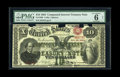 "Large Size:Compound Interest Treasury Notes, Fr. 190b $10 1864 Compound Interest Treasury Note PMG Very Good 6.From our 2006 FUN sale, where it was described as, ""The p..."