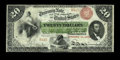 Large Size:Interest Bearing Notes, Fr. 197 $20 1863 Interest Bearing Note Fine. This is one of only nine serial numbers reported and a piece that traces its pr...