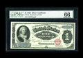 Large Size:Silver Certificates, Fr. 215 $1 1886 Silver Certificate PMG Gem Uncirculated 66EPQ. As nice a note as one could hope for. The attractive centerin...