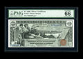 Large Size:Silver Certificates, Fr. 224 $1 1896 Silver Certificate PMG Gem Uncirculated 66 EPQ. In the last couple of years, $5 Eds surged in price, then th...