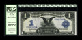 Large Size:Silver Certificates, Fr. 230 $1 1899 Silver Certificate PCGS Superb Gem New 68PPQ. A cursory glance at our auction data reveals exactly how few B...