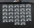 Large Size:Silver Certificates, Fr. 235 $1 1899 Silver Certificates 27 Consecutive Examples. Thisgroup of notes have all been encapsulated by PMG. There ar...(Total: 27 notes)