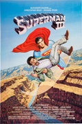 Memorabilia:Poster, Superman III Movie Poster (Warner Brothers, 1983)....